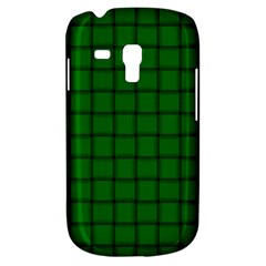 Green Weave Samsung Galaxy S3 Mini I8190 Hardshell Case by BestCustomGiftsForYou
