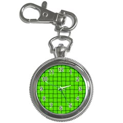 Bright Green Weave Key Chain & Watch by BestCustomGiftsForYou