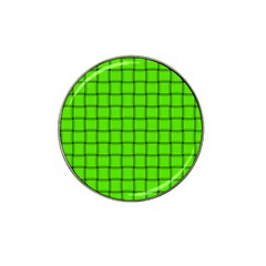 Bright Green Weave Golf Ball Marker 4 Pack (for Hat Clip) by BestCustomGiftsForYou