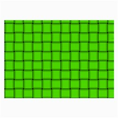 Bright Green Weave Glasses Cloth (large) by BestCustomGiftsForYou