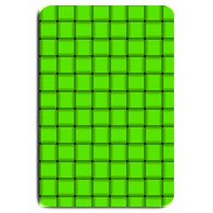 Bright Green Weave Large Door Mat