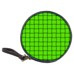 Bright Green Weave Cd Wallet by BestCustomGiftsForYou