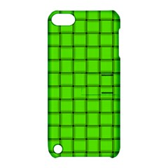 Bright Green Weave Apple Ipod Touch 5 Hardshell Case With Stand by BestCustomGiftsForYou