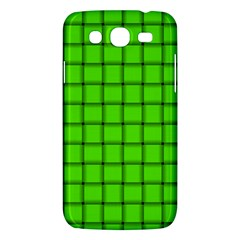 Bright Green Weave Samsung Galaxy Mega 5 8 I9152 Hardshell Case  by BestCustomGiftsForYou