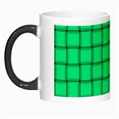Spring Green Weave Morph Mug by BestCustomGiftsForYou