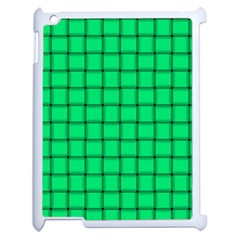 Spring Green Weave Apple Ipad 2 Case (white) by BestCustomGiftsForYou