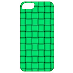 Spring Green Weave Apple Iphone 5 Classic Hardshell Case by BestCustomGiftsForYou