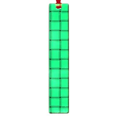 Spring Green Weave Large Bookmark by BestCustomGiftsForYou