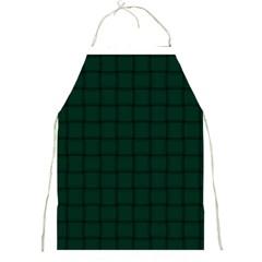 Dark Green Weave Apron
