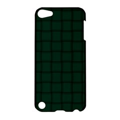 Dark Green Weave Apple Ipod Touch 5 Hardshell Case by BestCustomGiftsForYou
