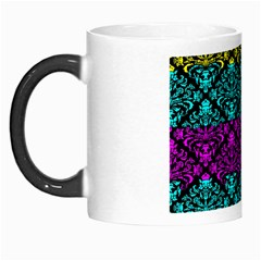Cmyk Damask Flourish Pattern Morph Mug by DDesigns