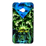 Green lion  - HTC One M7 Hardshell Case