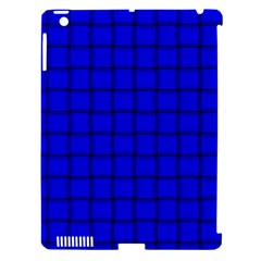 Blue Weave Apple Ipad 3/4 Hardshell Case (compatible With Smart Cover) by BestCustomGiftsForYou