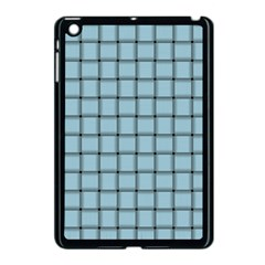 Light Blue Weave Apple Ipad Mini Case (black)