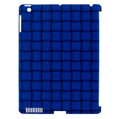Cobalt Weave Apple Ipad 3/4 Hardshell Case (compatible With Smart Cover) by BestCustomGiftsForYou