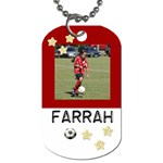 farrah dog tag - Dog Tag (Two Sides)