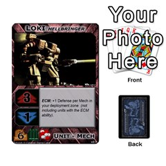 King Battletech: Domination V2 1 Supply Cards By Scott Heise   Playing Cards 54 Designs   Zqq7ttyiolkk   Www Artscow Com Front - SpadeK