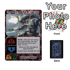 Ace Battletech: Domination V2 1 Supply Cards By Scott Heise   Playing Cards 54 Designs   Zqq7ttyiolkk   Www Artscow Com Front - SpadeA