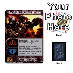 Battletech: Domination V2 1 Supply Cards By Scott Heise   Playing Cards 54 Designs   Zqq7ttyiolkk   Www Artscow Com Front - Heart4