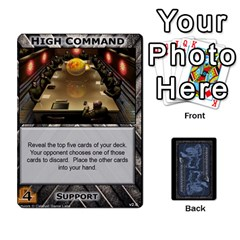 Battletech: Domination V2 1 Supply Cards By Scott Heise   Playing Cards 54 Designs   Zqq7ttyiolkk   Www Artscow Com Front - Diamond9