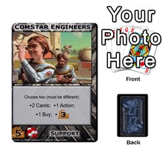 Queen Battletech: Domination V2 1 Supply Cards By Scott Heise   Playing Cards 54 Designs   Zqq7ttyiolkk   Www Artscow Com Front - DiamondQ