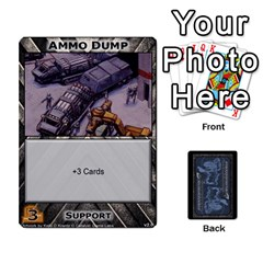 Battletech: Domination V2 1 Supply Cards By Scott Heise   Playing Cards 54 Designs   Zqq7ttyiolkk   Www Artscow Com Front - Club2