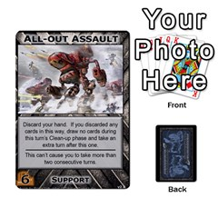 Battletech: Domination V2 1 Supply Cards By Scott Heise   Playing Cards 54 Designs   Zqq7ttyiolkk   Www Artscow Com Front - Club4
