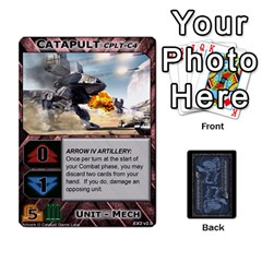 Battletech: Domination V2 1 Supply Cards By Scott Heise   Playing Cards 54 Designs   Zqq7ttyiolkk   Www Artscow Com Front - Club10