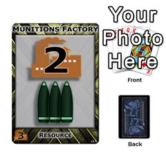 Battletech: Domination V2 1 Base Cards By Scott Heise   Playing Cards 54 Designs   9hvvg2uo7wnr   Www Artscow Com Front - Diamond9