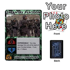 Battletech: Domination V2 1 Base Cards By Scott Heise   Playing Cards 54 Designs   9hvvg2uo7wnr   Www Artscow Com Front - Club7
