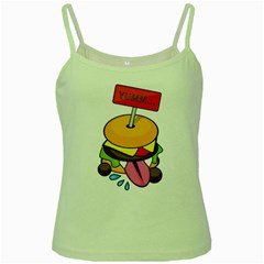 Burgeryumm Green Spaghetti Tank by Walands
