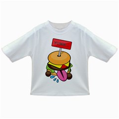 Burgeryumm Baby T Shirt by Walands