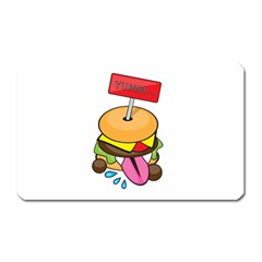 BurgerYUMM Magnet (Rectangular) by Walands