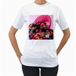 candy hearts & gumdrops - Women s T-Shirt (White) (Two Sided)