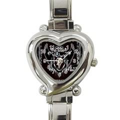 6 Set New Logo Heart Italian Charm Watch  by 6set