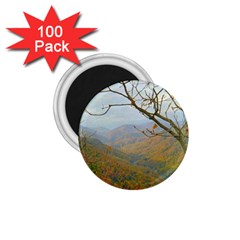 Way Above The Mountains 1 75  Button Magnet (100 Pack) by Majesticmountain