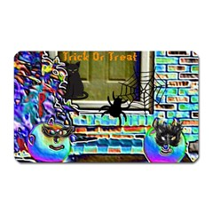 Colored Foil Halloween Magnet (rectangular) by gothicandhalloweenstore