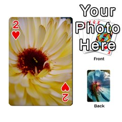 Playing Cards By Molly   Playing Cards 54 Designs   Jezw1pby4vbz   Www Artscow Com Front - Heart2