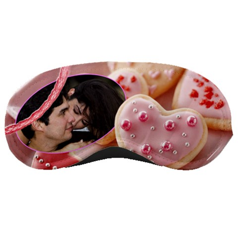 Cookie Hearts Dreams By Ivelyn   Sleeping Mask   L97zhll3sc3b   Www Artscow Com Front
