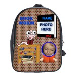 Book Worm Large School Bag - School Bag (XL)