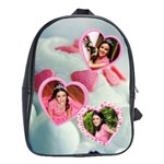 cupcake hearts - School Bag (XL)