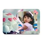 cupcake hearts plate mat