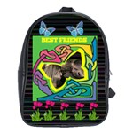 Best Friends large bookbag - School Bag (XL)