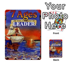 7 Ages Card Deck By Steve Fowler   Multi Purpose Cards (rectangle)   Fdyjh52vrzpw   Www Artscow Com Back 1