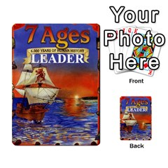7 Ages Card Deck By Steve Fowler   Multi Purpose Cards (rectangle)   Fdyjh52vrzpw   Www Artscow Com Back 9