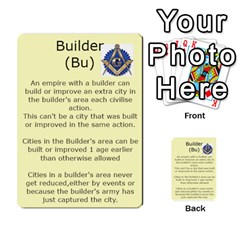 7 Ages Card Deck By Steve Fowler   Multi Purpose Cards (rectangle)   Fdyjh52vrzpw   Www Artscow Com Front 3