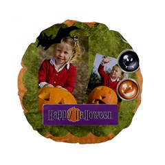 Helloween By Helloween   Standard 15  Premium Round Cushion    St7tu16we0wl   Www Artscow Com Back