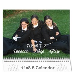 Roomies!! By Gittykriger94 Gmail Com   Wall Calendar 11  X 8 5  (12 Months)   62y8fnv48qln   Www Artscow Com Cover