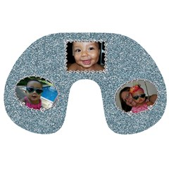 Glitter Neck Pillow By Angeye   Travel Neck Pillow   6gwd0xafh3xg   Www Artscow Com Front