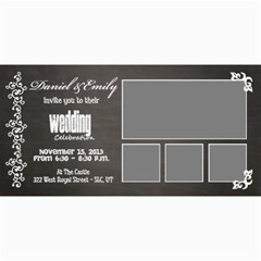 Wedding Invite By Emily   4  X 8  Photo Cards   O7tx69wcfowo   Www Artscow Com 8 x4 Photo Card - 1